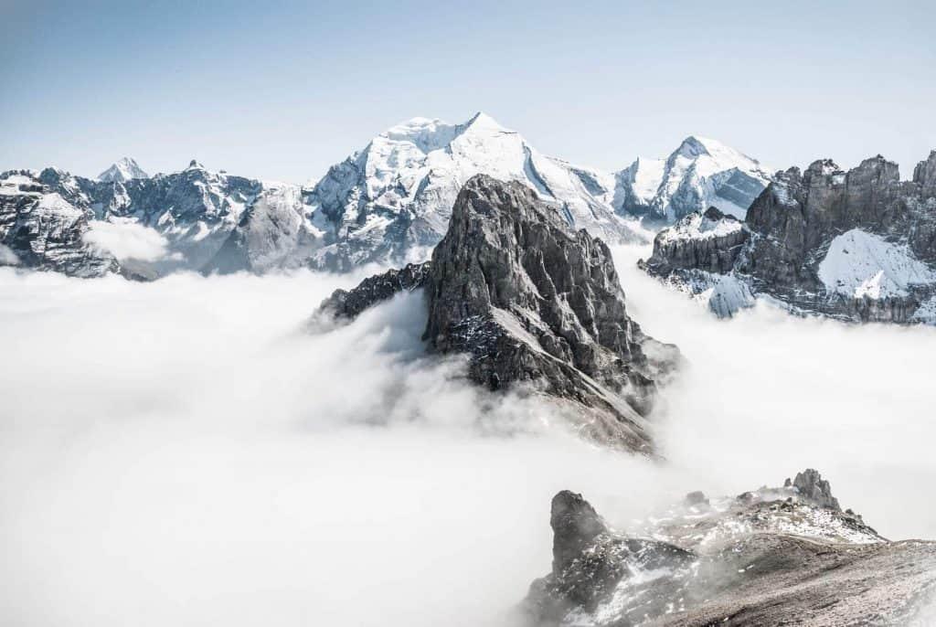Ozongenerator vinter berg
